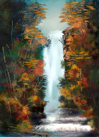 Mystic Mountain Waterfall_2